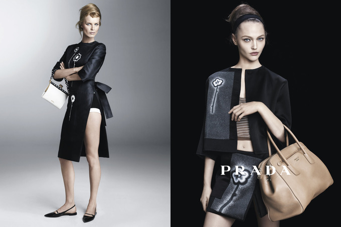 Вышла кампания Prada с Пивоваровой и Зиммерманн. Изображение № 6.