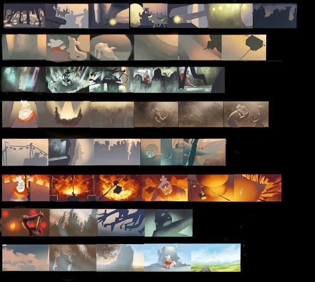 Анимация: бродяга спасает пса встимпанковском городе. Изображение № 16.