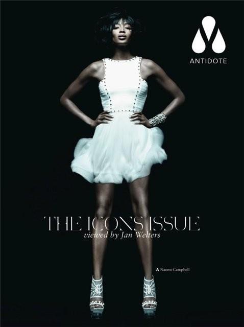 Супермодели на обложке Antidote Magazine. Изображение № 2.