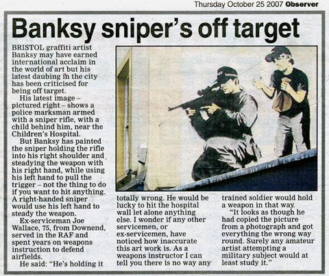 Изображение 44. Banksy (уличная мышь – герой).. Изображение № 44.