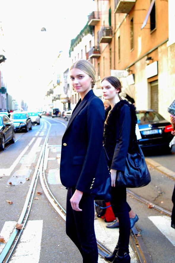 Milan Fashion Week. За кадром. Изображение № 13.