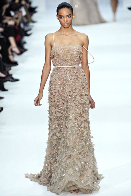 Elie Saab Spring 2012 Couture. Изображение № 9.