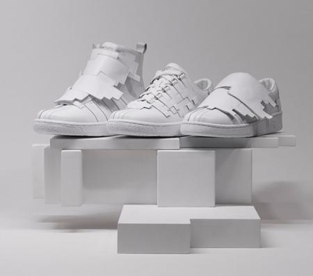 Геометрическая обувь отK-Swiss. Изображение № 1.