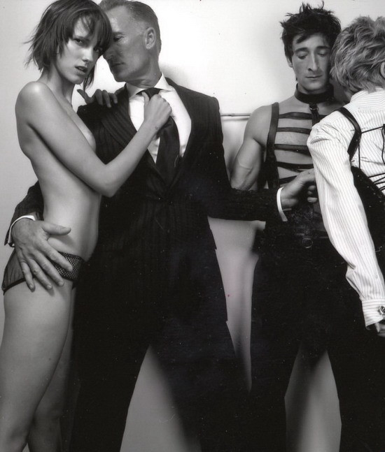 Sharon Stone & Adrien Brody by Tony Duran. Изображение № 5.