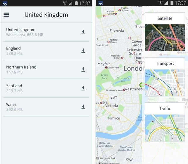 Карты Nokia установят на новые гаджеты Samsung. Изображение № 4.