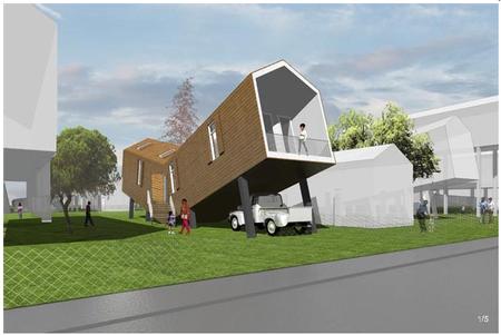 MVRDV – новое жильё длянового орлеана. Изображение № 4.