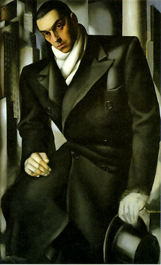 Тамара де Лемпицка – художница и икона Арт Деко. Изображение №3.