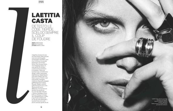 Съёмка: Летиция Каста для Amica. Изображение № 1.