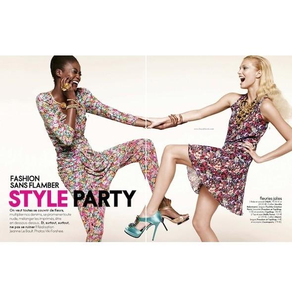 5 новых съемок: Amica, Elle, Harper's Bazaar, Vogue. Изображение № 9.