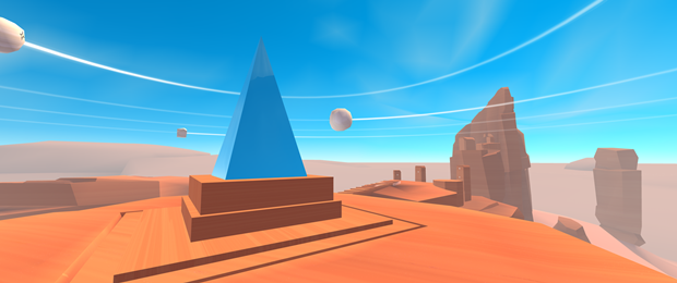 Вышла VR-игра авторов Monument Valley с управлением взглядом. Изображение № 1.