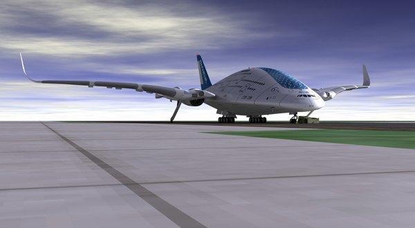 Дизайнер показал проект самолёта будущего. Изображение № 5.