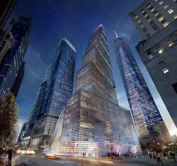 Представлен проект третьей повысоте башни Манхэттена. Изображение № 3.