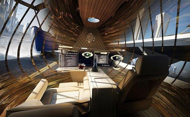 Дизайнер представил биомиметические самолёты. Изображение № 18.