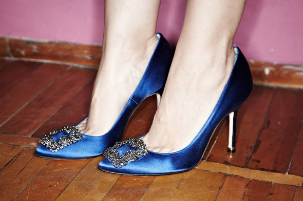 фото обувь маноло бланик