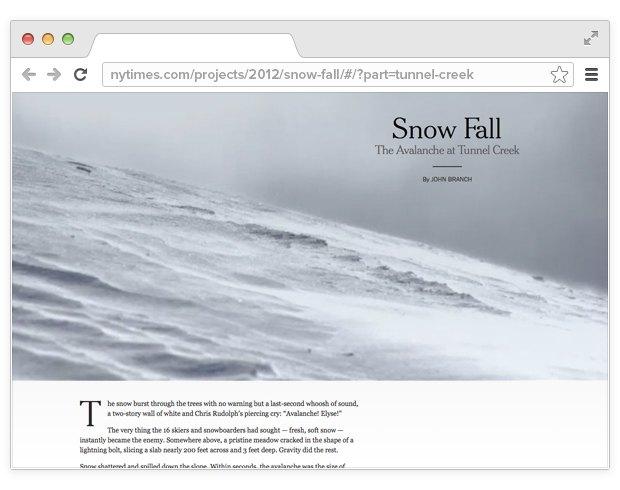 8 интерактивных статей, которые меняют подход к журналистике. Изображение № 2.