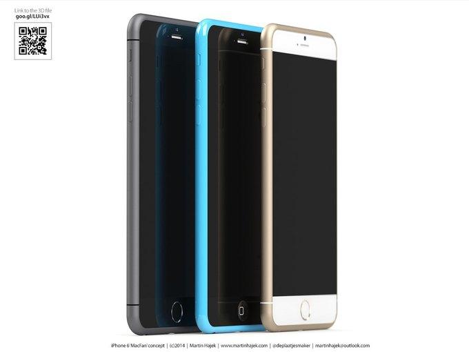Дизайнер создал концепты iPhone 6s и 6c на основе «слива» из японского журнала. Изображение № 14.