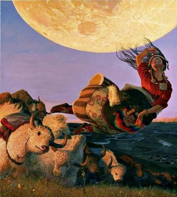 Wang Yi Guang. Feitain, или летающий пух. Изображение № 13.