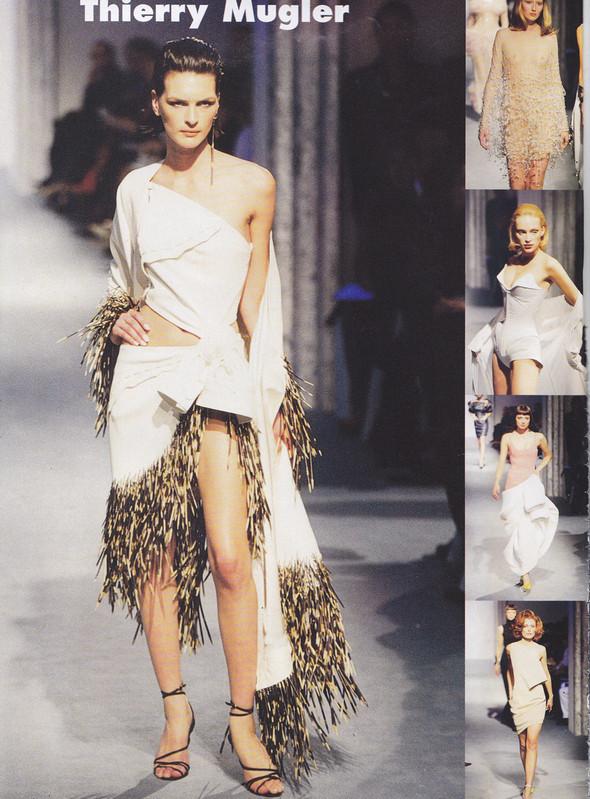 Изображение 3. Thierry Mugler 90-х. Одежда не для толпы, а для истории.. Изображение № 2.