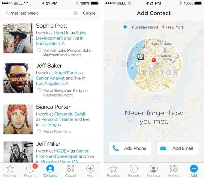 Приложение Humin позволит «по-умному» организовать контакты в смартфоне. Изображение № 3.