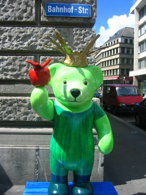 Изображение 1. Стрит-арт в Цюрихе.. Изображение № 1.