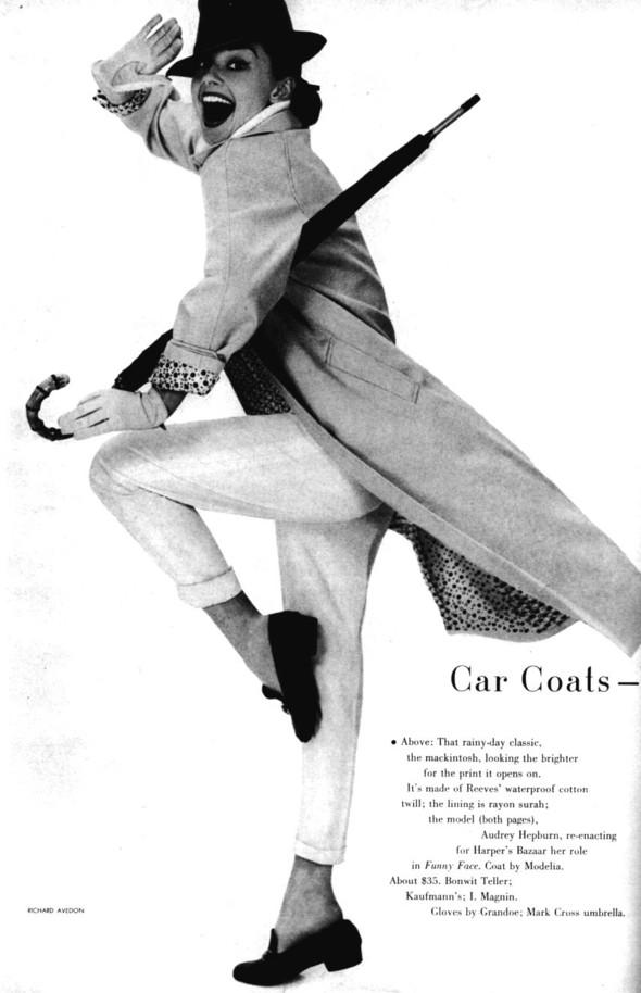 Архивная съёмка: Одри Хепберн в объективе Ричарда Аведона. Изображение № 3.
