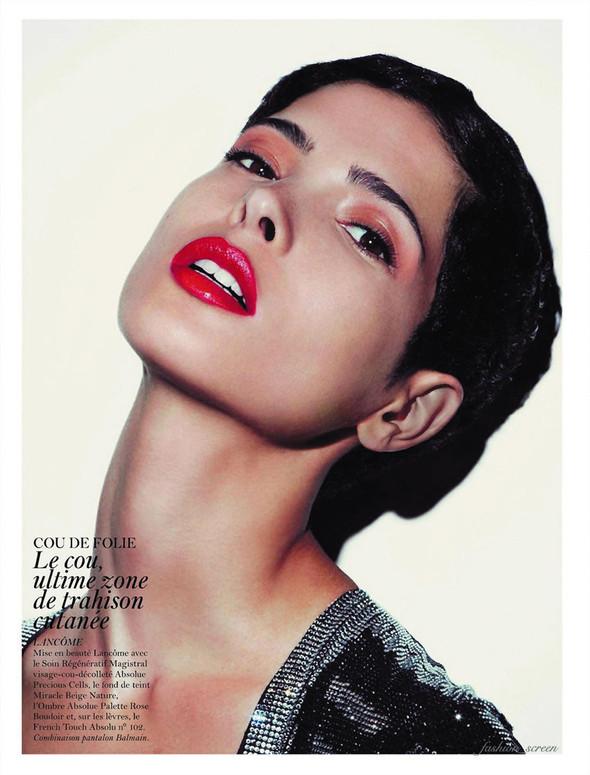 Съёмка: Аризона Мьюз, Каролина Куркова, Наташа Поли и другие для французского Vogue. Изображение № 7.