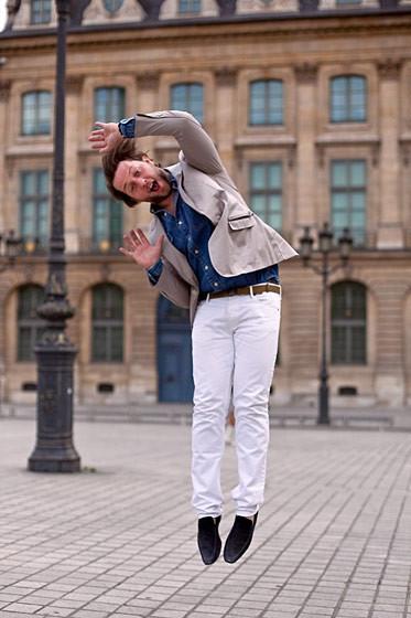 Уличный стиль на Неделе высокой моды в Париже. Изображение № 54.