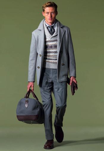 Мужские коллекции осень-зима 2010 от Hackett, Gloverall, D.S.Dundee, Barbour. Изображение № 4.