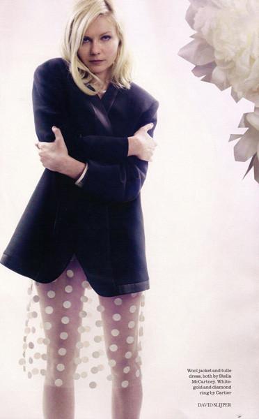 Съёмка: Кирстен Данст для Elle. Изображение № 3.