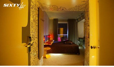 Отель-магазин синдивидуальной отделкой каждого номера. Изображение № 6.