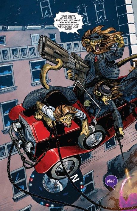 «Никаких зомби и супергероев»: Интервью с создателями комикса Shutter. Изображение № 14.