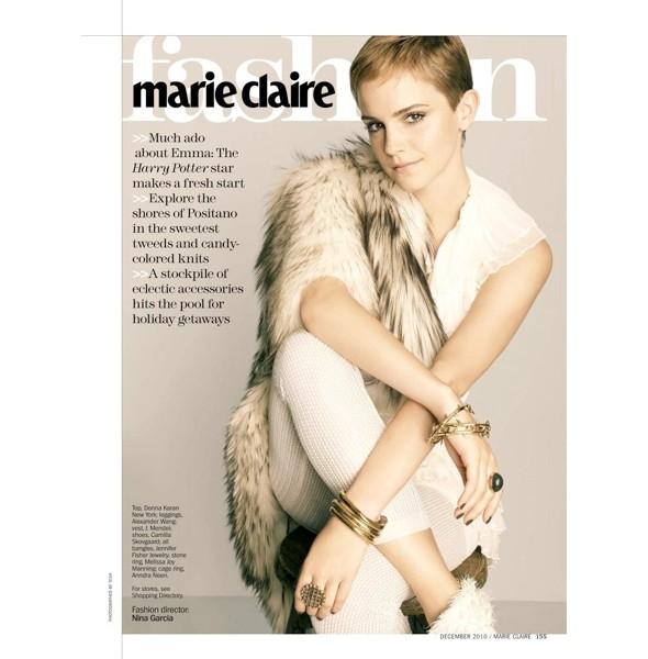Новые съемки: Elle, Marie Claire, Vogue и другие. Изображение № 21.