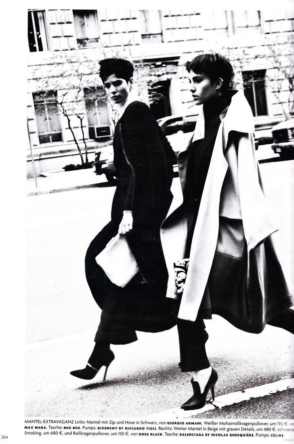 Съёмка: Хана Бен Абдесслем и Валерия Келава для Vogue. Изображение № 3.