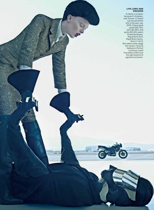 Новые съемки Dazed & Confused, Vogue, i-D и W Magazine. Изображение № 53.