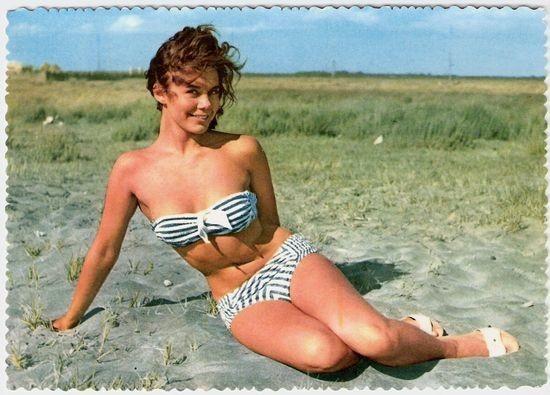 Немецкая открытка 1960 годов. Изображение № 39.