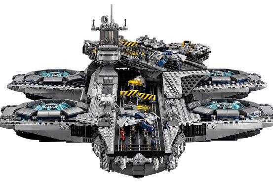 Lego показала набор Shield Helicarrier. Изображение № 4.