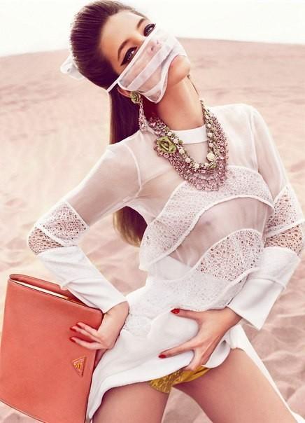 Cьемка: Барбара Палвин для Vogue Spain Febriary 2012. Изображение № 6.