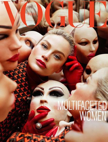 Обложки свежих номеров Bon, Garage, Purple Fashion, The Last и Vogue. Изображение № 9.