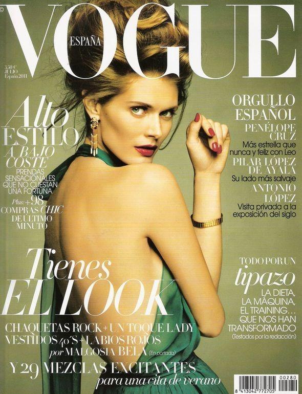 Изображение 3. Обложки Vogue: Испания, Корея и Япония.. Изображение № 1.