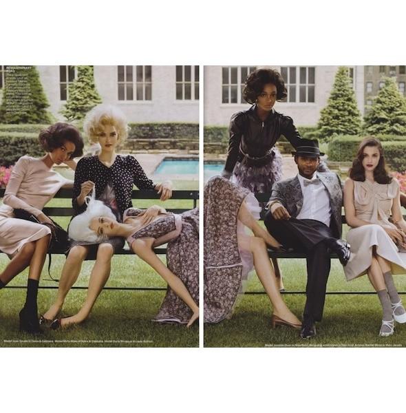 5 новых съемок: Purple Fashion, Vogue и W. Изображение № 24.