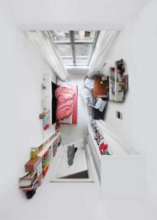 """Вид сверху лучше: """"Портреты комнат"""", сделанные с потолка. Изображение № 5."""