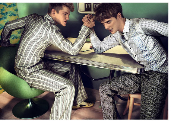 Мужские съемки: Dazed & Confused, i-D, Citizen K, Seventh Man и Men's Folio. Изображение № 20.