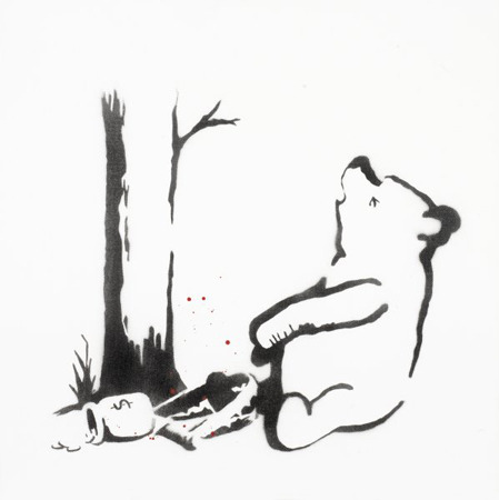 "Бэнкси ""Winnie the Pooh"". Изображение № 1."