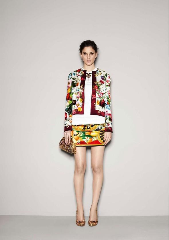 Лукбук: Dolce & Gabbana FW 2011 Women's. Изображение № 2.