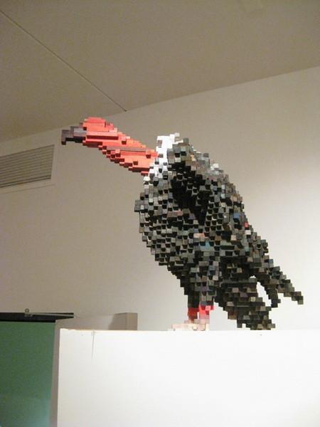 """""""Пиксельные"""" скульптуры Shawn Smith. Изображение № 6."""