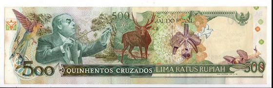 Картины и коллажи из денег Родриго Торреса. Изображение № 11.
