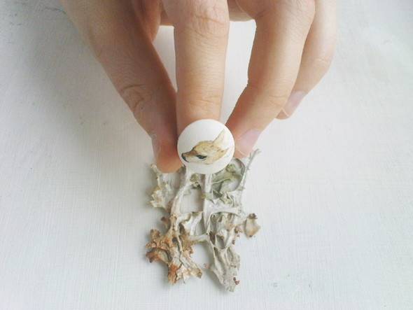 My white room.forest animals rings. Изображение № 1.