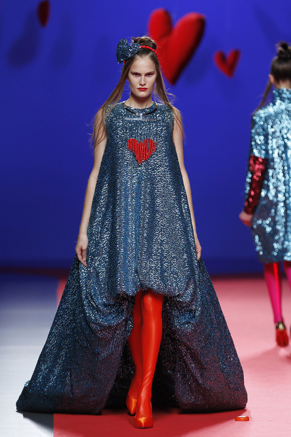 Испанцы Fall Winter 2011/2012: AGATHA RUIZ DE LA PRADA. Изображение № 28.
