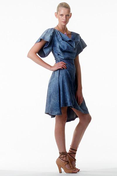 Лукбук: Vivienne Westwood Anglomania SS 2012. Изображение № 18.