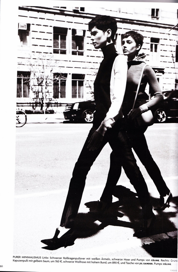 Съёмка: Хана Бен Абдесслем и Валерия Келава для Vogue. Изображение № 19.